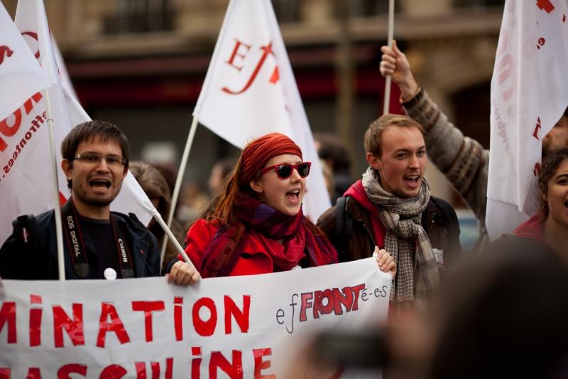 Manifestation contre les violences faites aux femmes – 25 novembre 2012