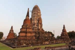Ayutthaya, Thaïlande - 25 janvier