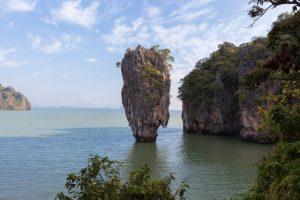 Khao Phing Kan, Baie de Phang Nga, Thaïlande - 30 janvier