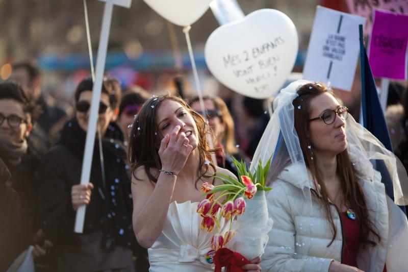 Manifestation pour l'égalité – 16 décembre 2012