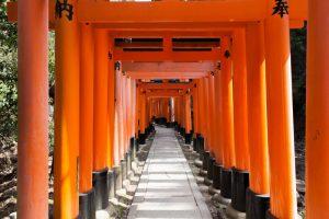Fushimi Inari-taisha, Kyoto, Japon - 29 mars