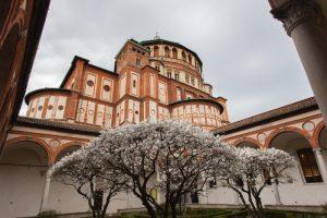 Santa Maria delle Grazie, Milan, Italie - 31 mars