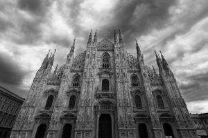 Duomo, Milan, Italie - 31 mars