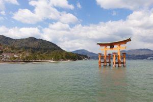 Itsukushima-jinja, Miya-jima, Japon - 1 avril