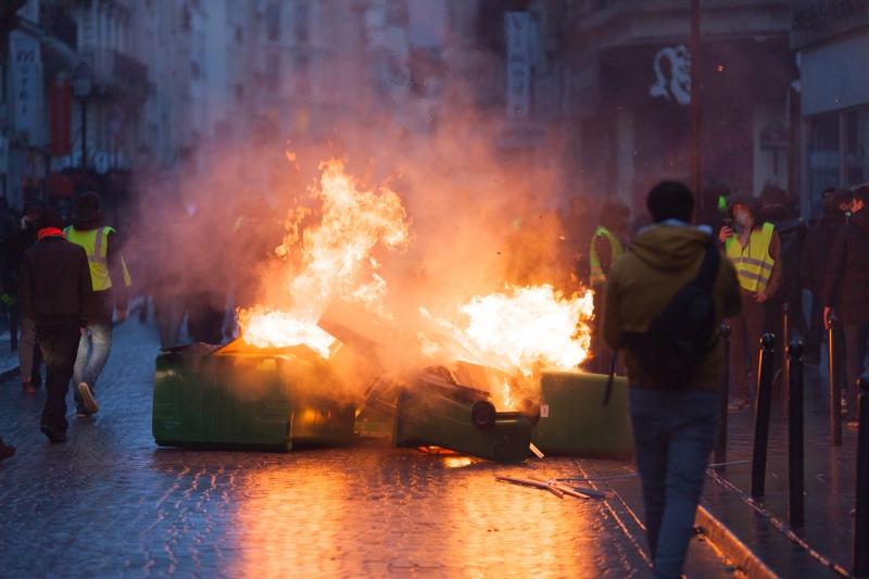 Manifestation des Gilets Jaunes – Acte IV – 8 décembre 2018