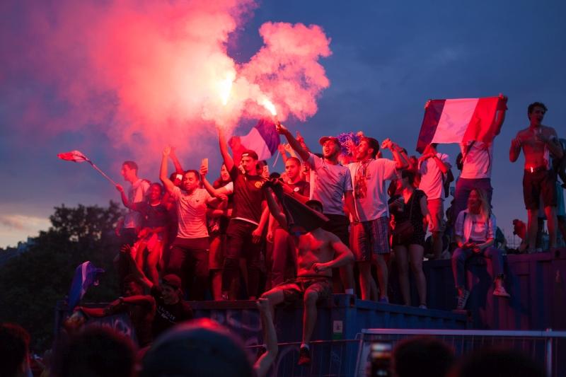 Victoire de la France à la coupe du monde de football – 15 juillet 2018