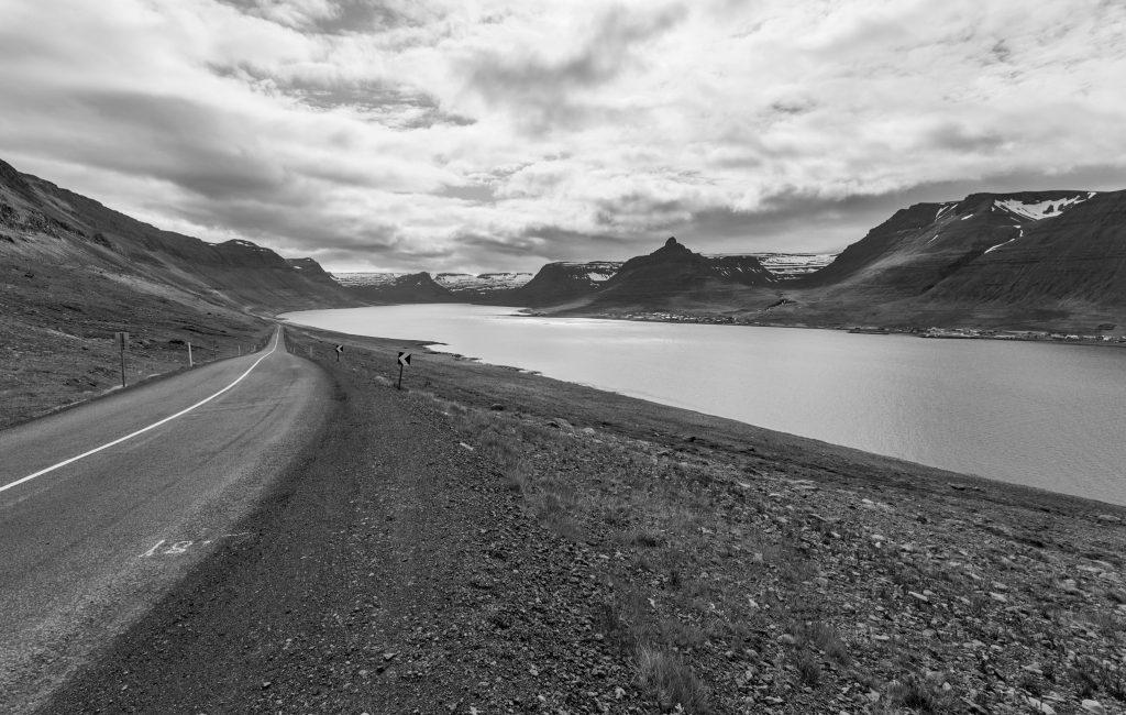 Islande en noir et blanc