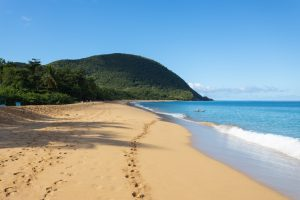 Plage de Grande Anse, Guadeloupe - 28 janvier