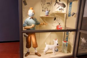 La Boutique Tintin, Bruxelles - 5 juillet