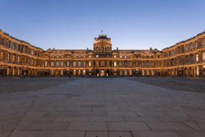 Cour Carrée, Louvre, Paris - 7 août