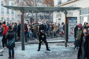 Place de la Bastille, Paris - 28 novembre